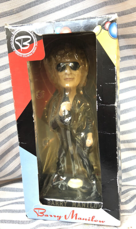 BARRY MANILOW BOBBLEHEAD Figure Paradise Tour 3rd in Series with box