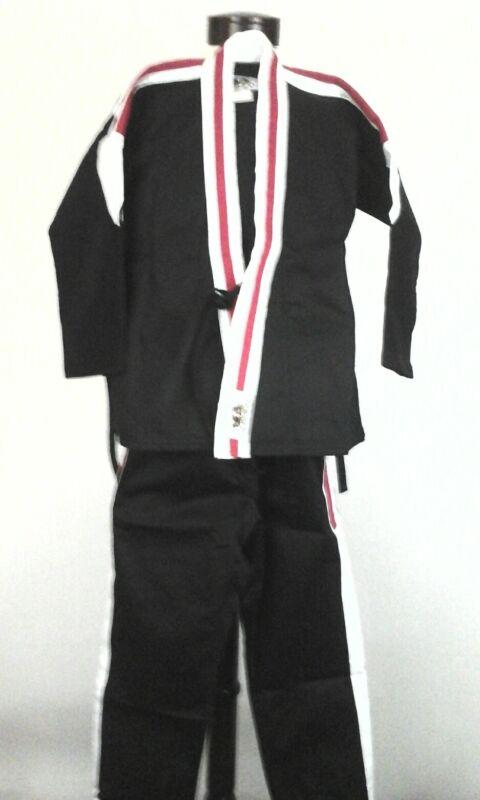 Karate Uniform BUSHIDO Kids Kimono Jacket/Pants JIU-JITSU TAE KWON DO 00/130 New