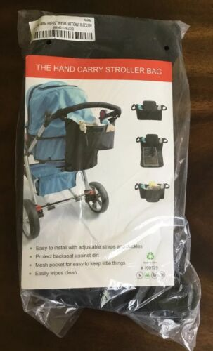 Stroller Organizer With Two 2 Insulated Cup Holders -Universal And Unisex New - $14.99