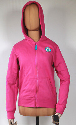 Neu All Star Converse Mädchen Girls Sport Hoodie Kapuzen Sweater Jacke pink Mädchen Converse Hoodie