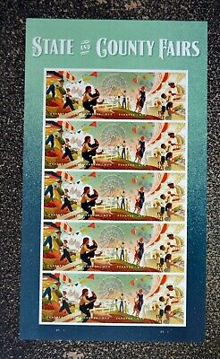 2019USA #5401-5404 Forever State & County Fairs - Sheet of 20  Mint