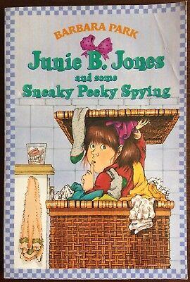 Junie B. Jones: Junie B. Jones and Some Sneaky Peeky Spying No. 4 by