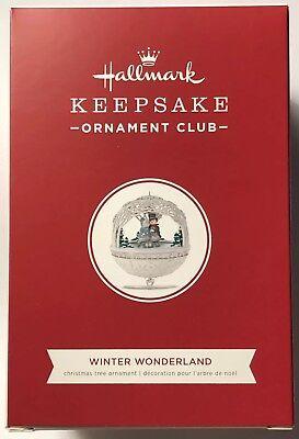 18-WINTER WONDERLAND-Member Exclusive-Orn Club-Sound&Motion (Winter Wonderland Ornamente)