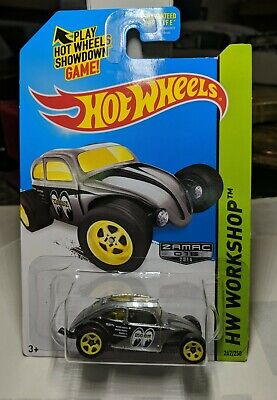 Hot Wheels Zamac Moon Eyes Custom Volkswagen Beetle w/5 Spoke Wheels