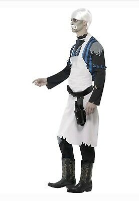 New Smiffy's Men's Ghost Town Bar Keeper Costume - Barkeeper Kostüme Halloween