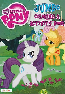 My Little Pony Jumbo Coloring & Activity Book 96 Pages w ()