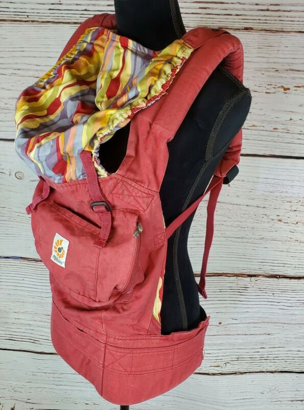 Ergo Baby Carrier Backpack Red