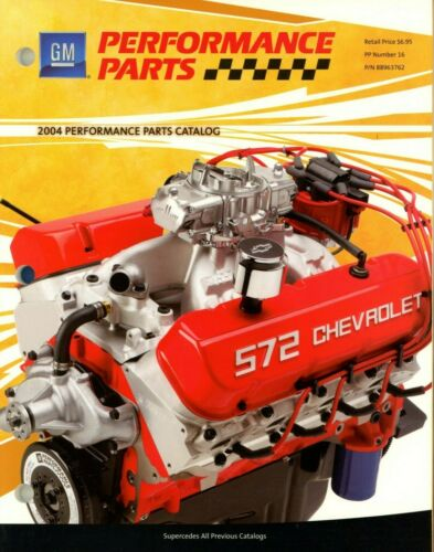 2004 GM Performance Parts Catalog