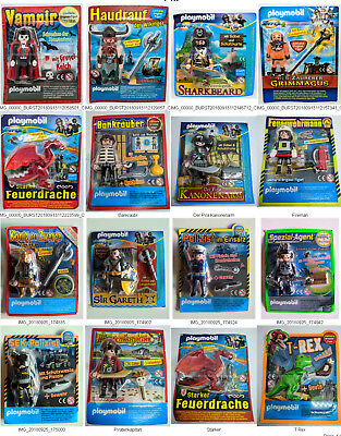 ORIGINAL PLAYMOBIL Limited Edition Rare Figures - Exclusive Sealed Blisters RARE