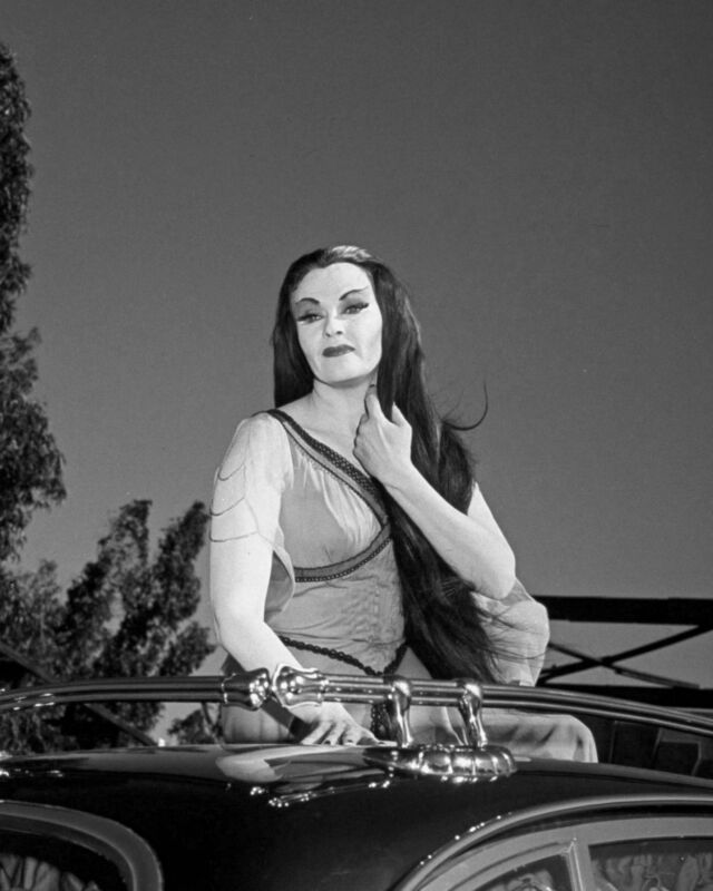 The Munsters Yvonne De Carlo Lily Celebrity Rare Exclusive 8 x 10 Photo 3291 /'/'