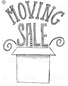 Moving sale read details for items