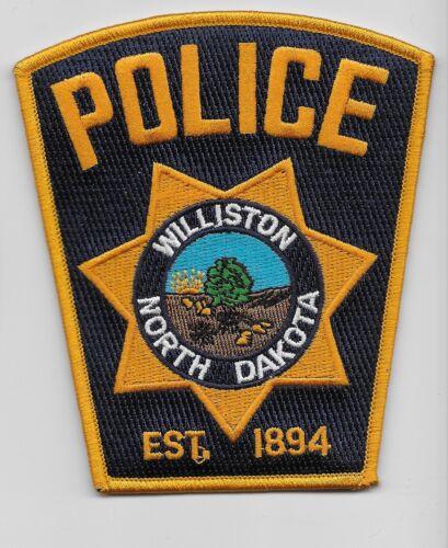 Williston Police State North Dakota ND