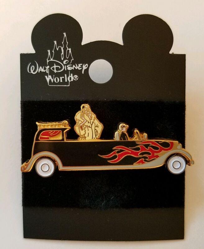 Disney Pin 101 Dalmatians Villain Cruella De Vil Star & Motor Parade Car MGM