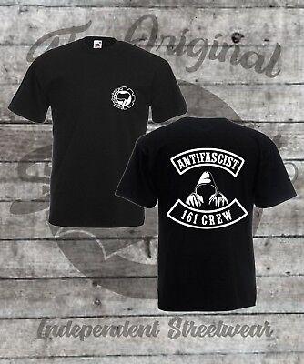 T-Shirt Größe S - 4XL  / Antifascist / 161 Crew / FCK NZS / Antifa / Punk / GNWP