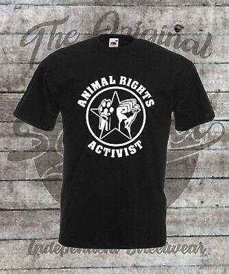 Tierschutz T-Shirt Größe S - 4XL Vegan  / Veggie / Animal Rights Activist / Punk