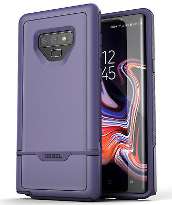 Encased Samsung Galaxy Note 9 Case Purple, Rugged Protective