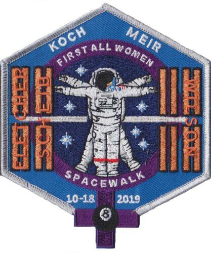 NASA First All Women Astronaut Koch Meir Space Station Walk ISS Original Patch