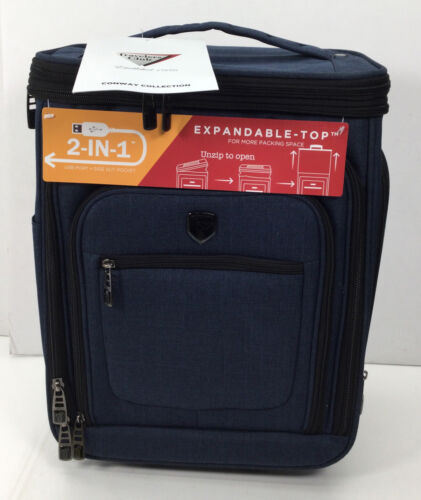 Travelers Club - Conway Collection Portable Cooler, Navy Blue - $39.99