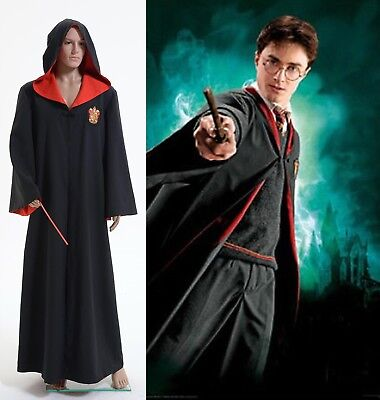 Harry Potter Gryffindor of Hogwarts Robe Costume Cosplay Halloween Party - Hogwarts Halloween Costume