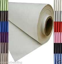 BLACKOUT THERMAL CURTAIN LINING FABRIC MATERIAL 3 PASS 12 COLOURS SOLD PER METRE