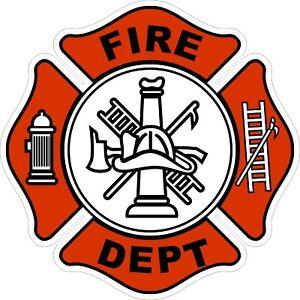 Volunteer-Fire-Department-Decal-Sticker