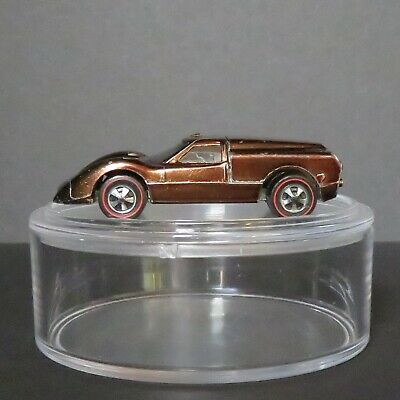 Vintage Original Hot Wheels Redline 1967 Ford J-Car Metallic Copper