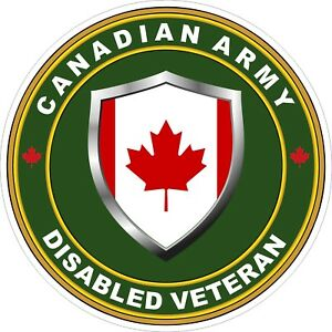 Canadian-Army-Disabled-Veteran-Decal-Sticker