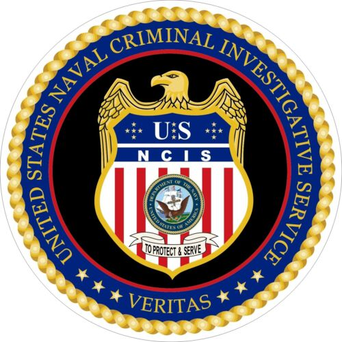 U S Ncis Naval Criminal Investigative Service Logo Decals