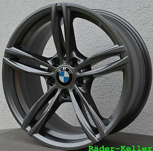 4 x Neu Alufelgen für BMW 18 Zoll 1er 182 187 F20 F21 2er F22  X3 X4 E46