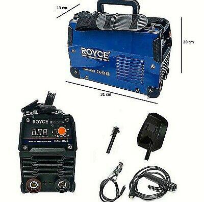 Máquina de Soldadura A Electrodo Eléctrica Inversor 300 Amperio 1.6-4.0