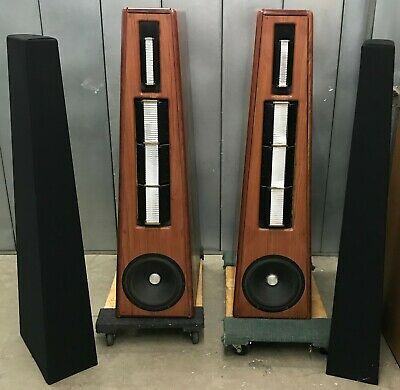 SEQUERRA SIGNATURE MKII RIBBON HYBRID SPEAKERS RARE/TESTED/WORKING!, used for sale  Shipping to South Africa
