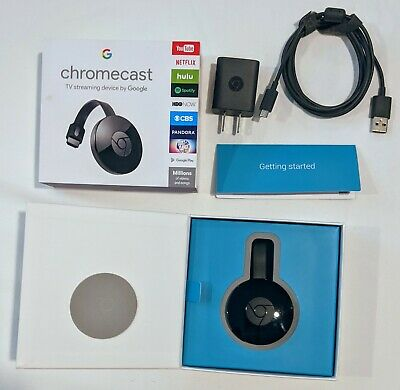 Google Chromecast Digital HD Media TV Streamer 2nd Generation 2 NC2-6A5 Black