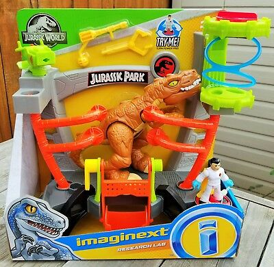 Imaginext Jurassic World RESEARCH LAB Playset, Fisher Price Ready to Ship !!