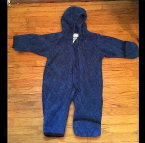 Columbia fleece one-piece jacket - size 6 months