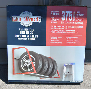 New Moto Master 375 lb Wall Mounting Tire Rack
