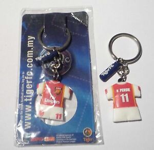 ARSENAL-Key-Chain-VAN-PERSIE-Ring-TIGER-BEER-MALAYSIA-2006-Champions-League