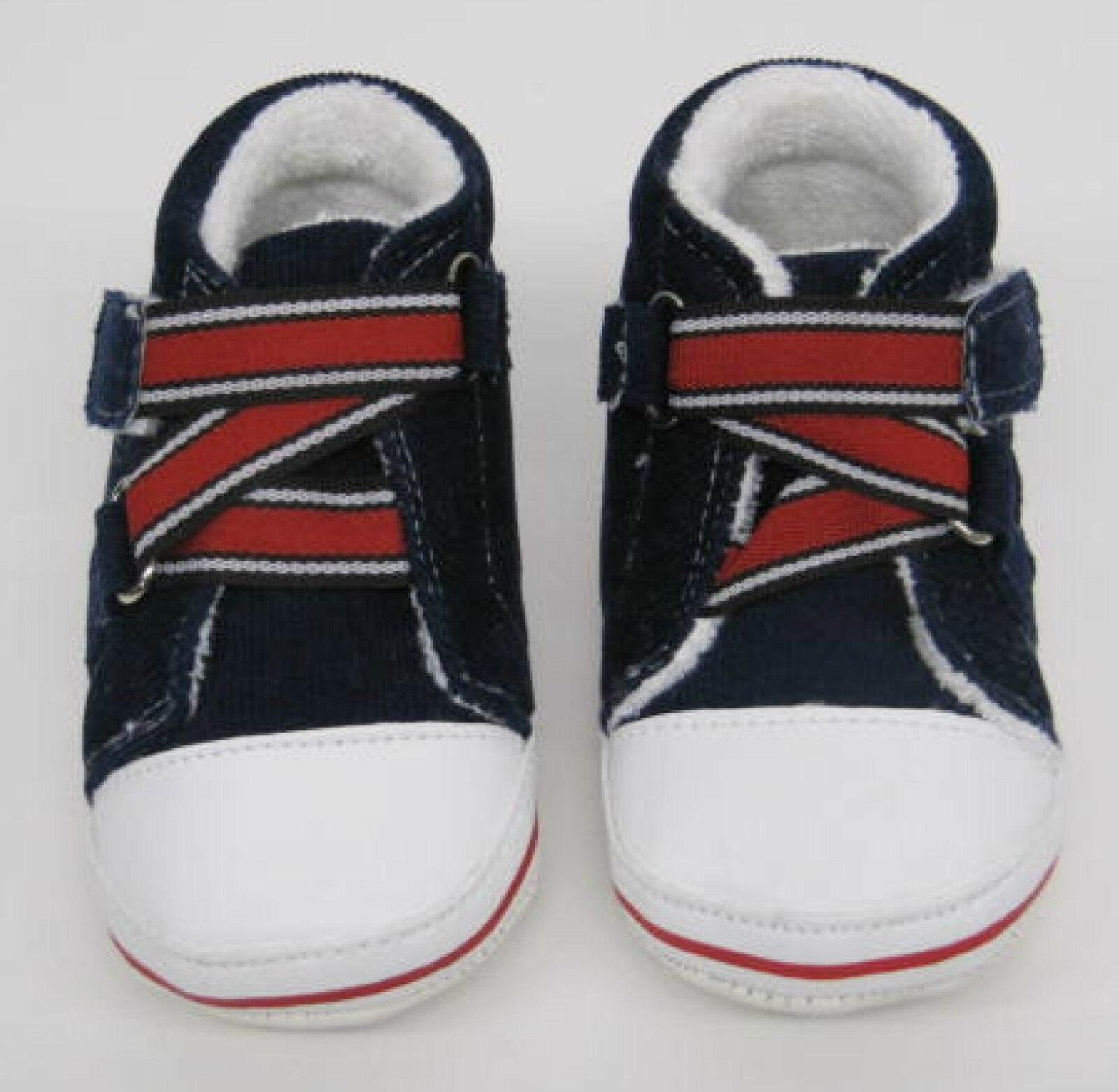 BABY BOYS GIRLS FIRST SHOES NAVY BLUE