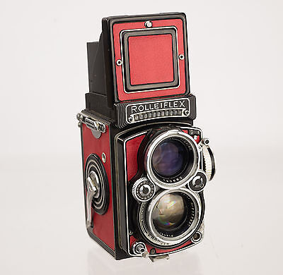 Rolleiflex 2.8E Replacement Cover - Laser Cut - Recycled Leather - Moroccan