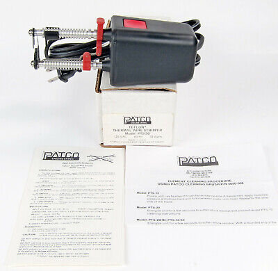 Patco Pts-30 Thermal Wire Stripper 16 - 30 Awg 1700 F Excellent Condition