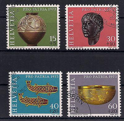 Schweiz - 1973 - Mi. Nr. 996-999 - Gestempelt