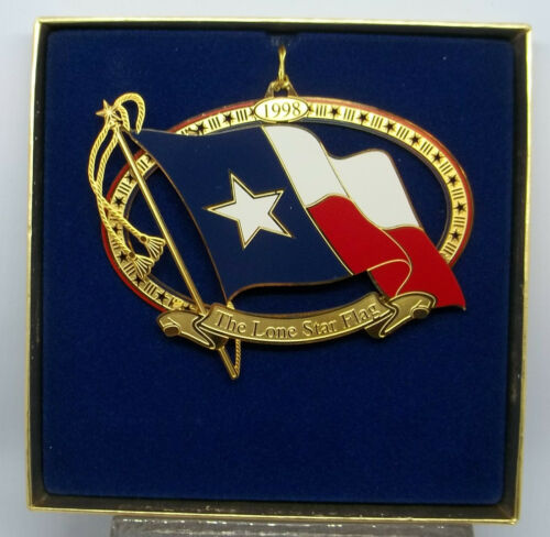 1998 Texas State Capitol Ornament, with box & pamphlet, Excellent Condition!