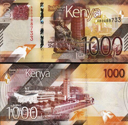 Kenya 1000 Shillings 2019, UNC, P-New