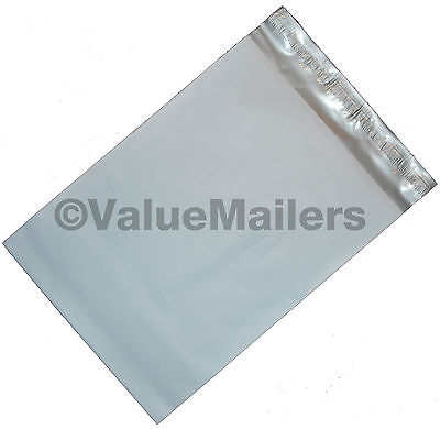 100 Poly Mailers Envelopes 14.5x19 Self Seal Plastic Bags Matte Finish 2.7 Mil