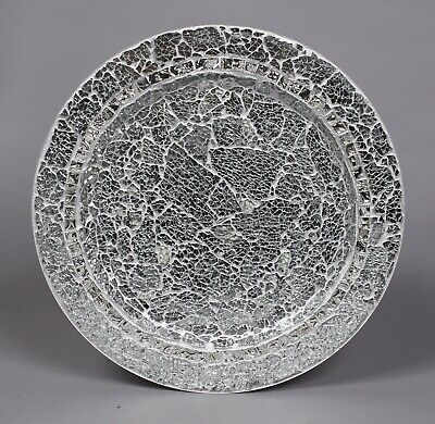 Metal Mosaic Plates - Charger Plates Mosaic on Metal Silver 13