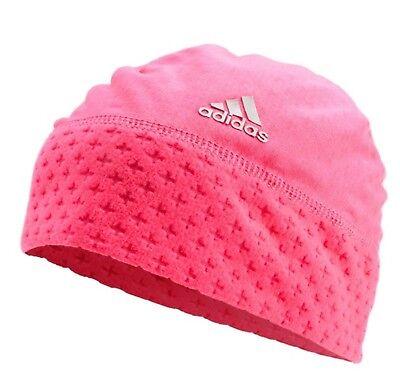 41dd4fb1 Adidas Beanie Original Climaheat Fleece 2015 Winter Woolie Pink Hat Warm  S06429