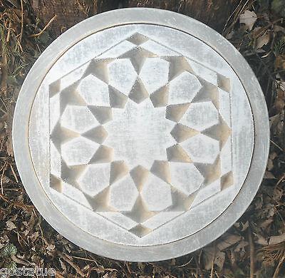 Modern geometric stepping stone plastic mold mould