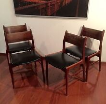 DREAMY DANISH (PARKER EAMES ERA) ROSEWOOD  DINING CHAIRS Rochedale Brisbane South East Preview