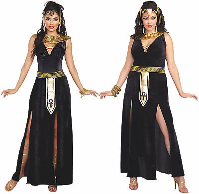 Egyptian Queen Cleopatra Costume Princess Goddess Exotic Isis Snakes Pharaoh](Egyptian Goddess Isis Costume)