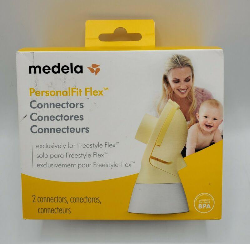 Medela PersonalFit Flex Connectors (Box Contains 2 Connectors) - NEW & Sealed