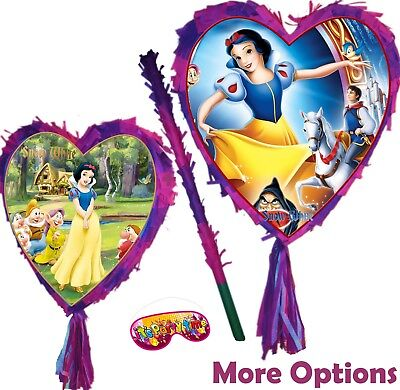 ash Party Stick Disney Princess Seven Dwarfs Heart apple UK (Apple Pinata)